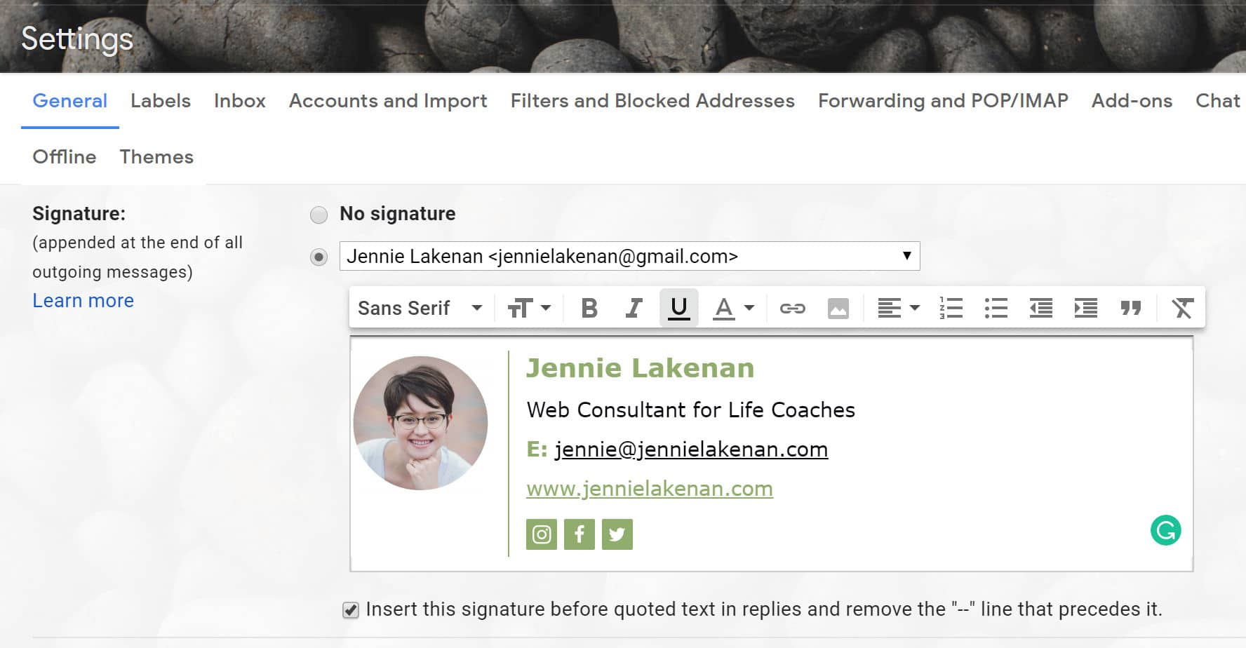 Professional Email Signatures: How to create & install an